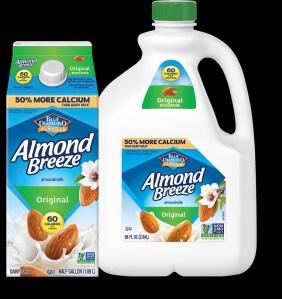 Blue Diamond Almonds Breeze Dairy Free Almondmilk, Best Milk Alternatives for Your Coffee