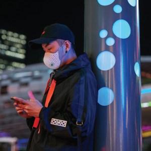 AirPop face mask halo sensor, future of face masks