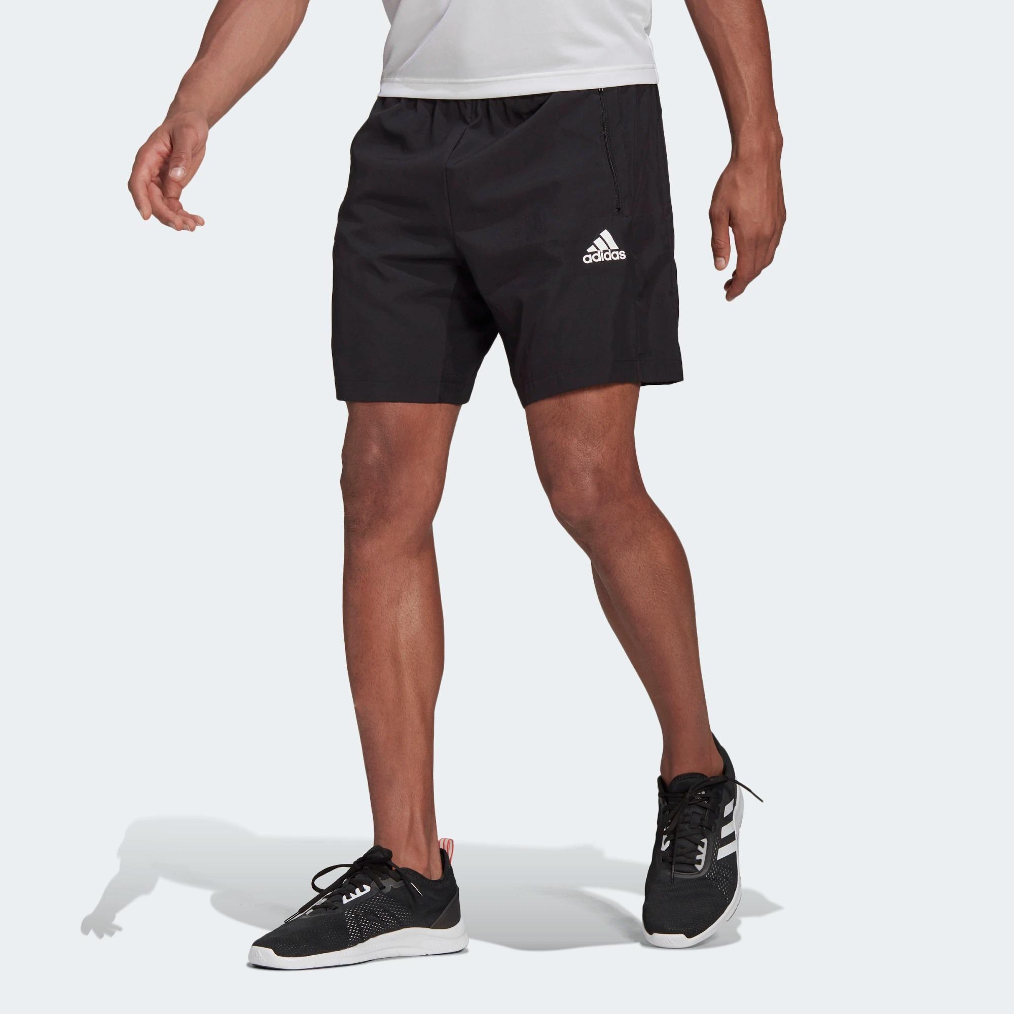 Adidas Aeroready Designed 2 Move Woven Sport Shorts, best men's workout shorts