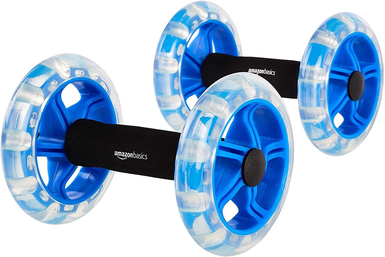 Amazon Basics Exercise Fitness Ab Rollers