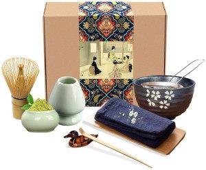 Artcome Japanese matcha tea set, coffee alternatives
