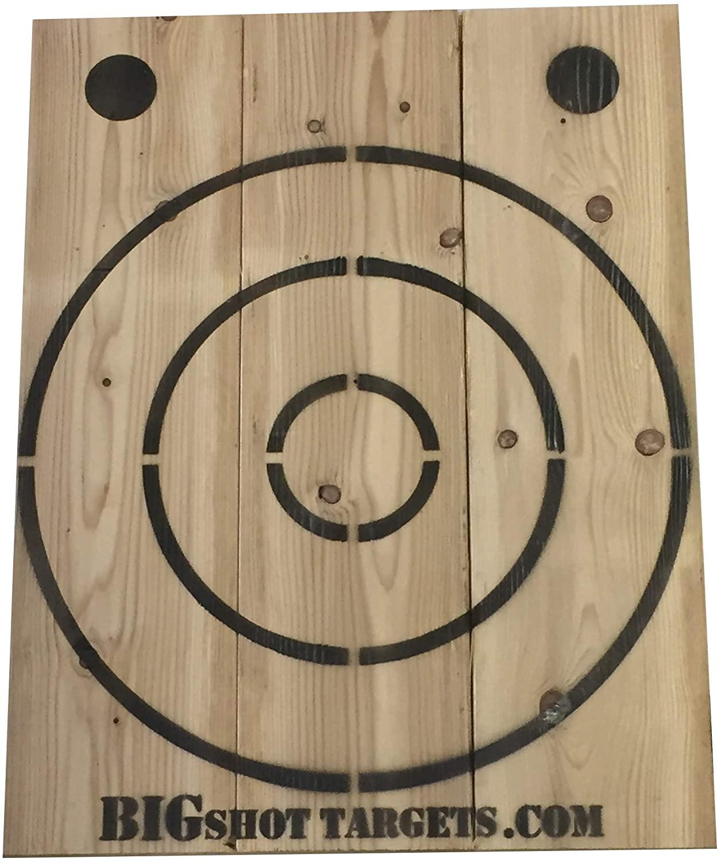Bigshot Wooden Axe Throwing, Knife Throwing Target