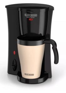 black decker personal coffee maker