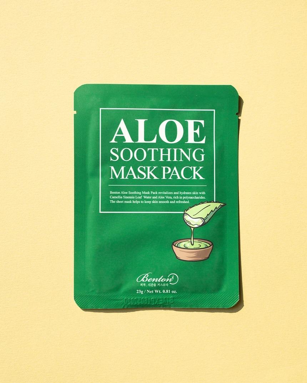 Benton Aloe Soothing Face Mask Pack