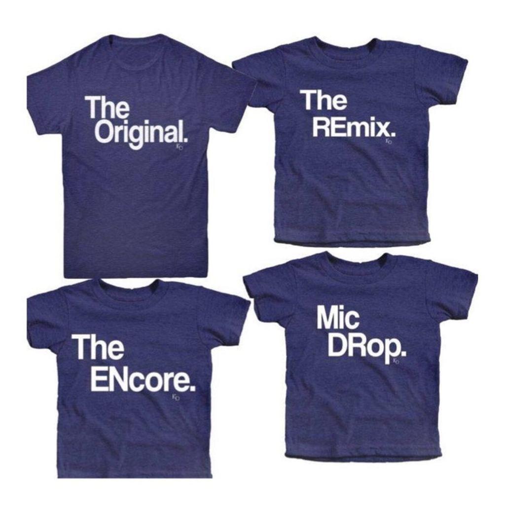 Mini Me matching shirts Set