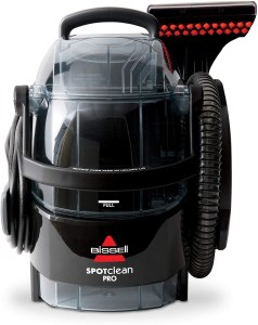 bissell spot clean professional portable carpet cleaner