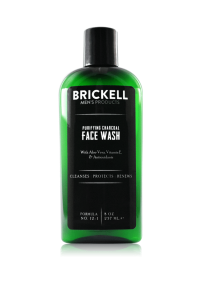 Brickell face wash, men's natural grooming products