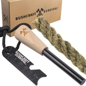 bushcraft survival ferro rod