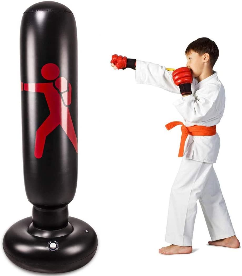 Cestbella kids inflatable punching bag, punching bag for kids