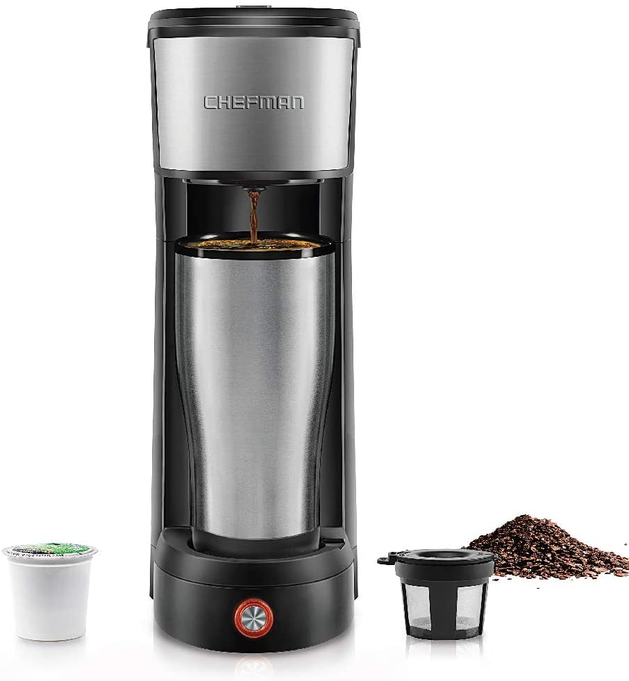 Chefman InstaCoffee Coffee Maker, small coffee makers