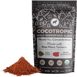 wild cocotropic superfood elixir, coffee alternatives