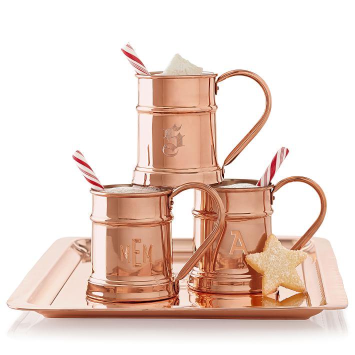 Personalizable copper mugs
