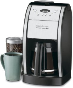 coffee machine with grinder cuisinart dgb automatic