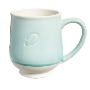 tag Reactive Speckle Monogram Mug