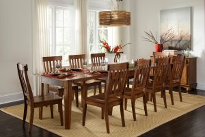 Danley expandable dining table