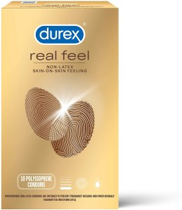 latex free condoms durex avanti bare real feel lubricated
