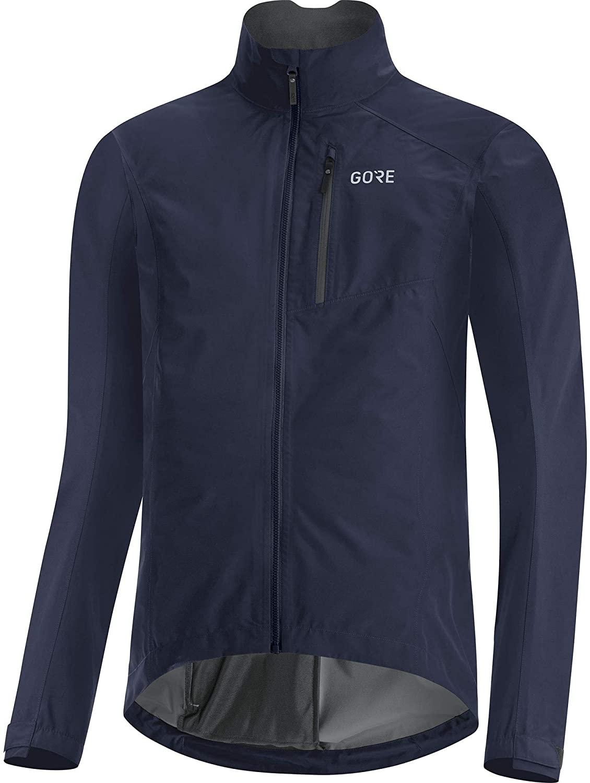 Gore Wear Men's Cycling Jacket Gore Tex Paclite in blue