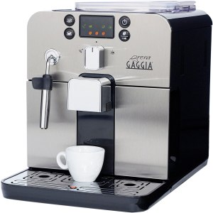 coffee machine with grinder gaggia brera super automatic