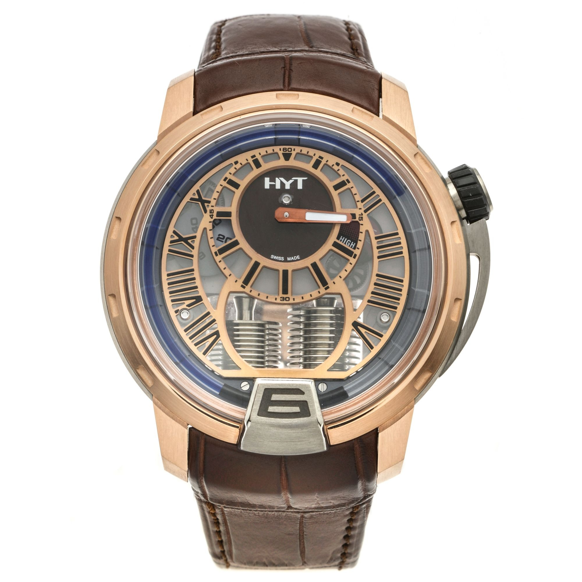 HYT-H1-Air-Classic-18K-Rose-Gold-And-Titanium-Manual-Wind-Mens-Watch