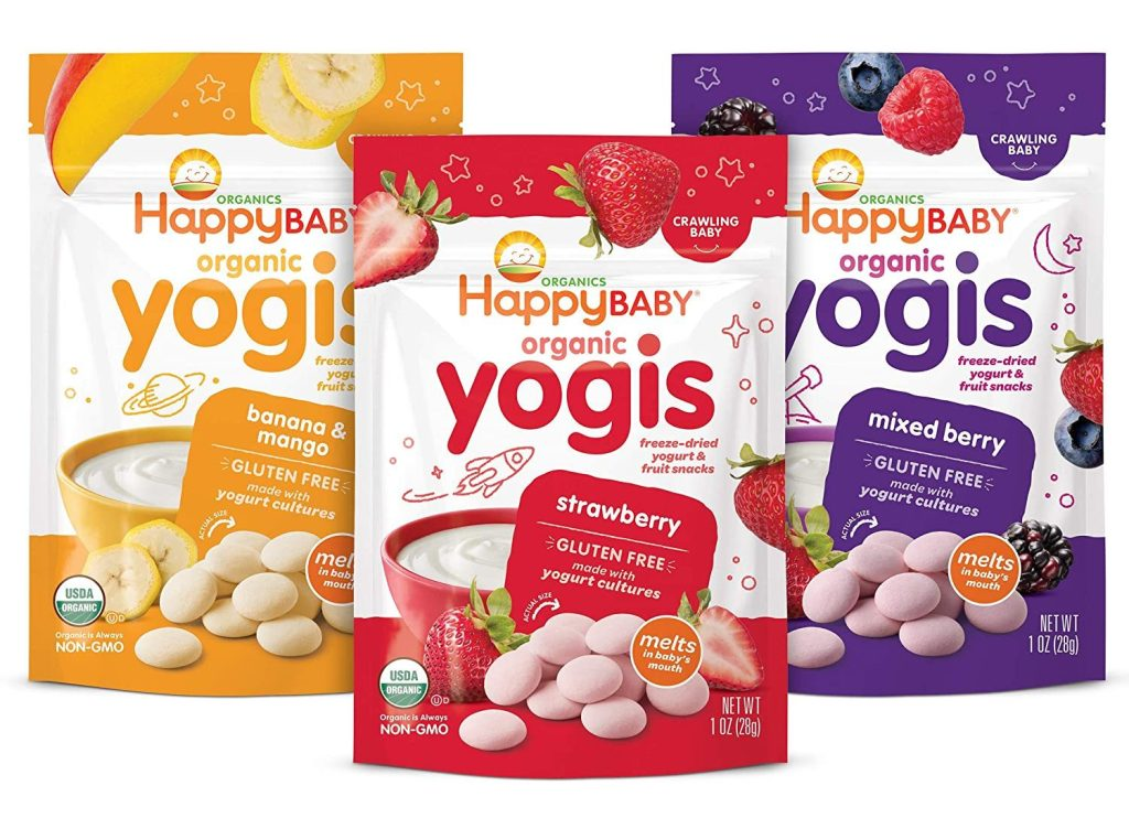 Happy Baby Organic Greek Yogis