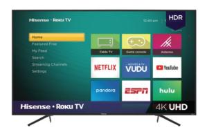 Hisense 75-inch 4K UHD LED Roku TV