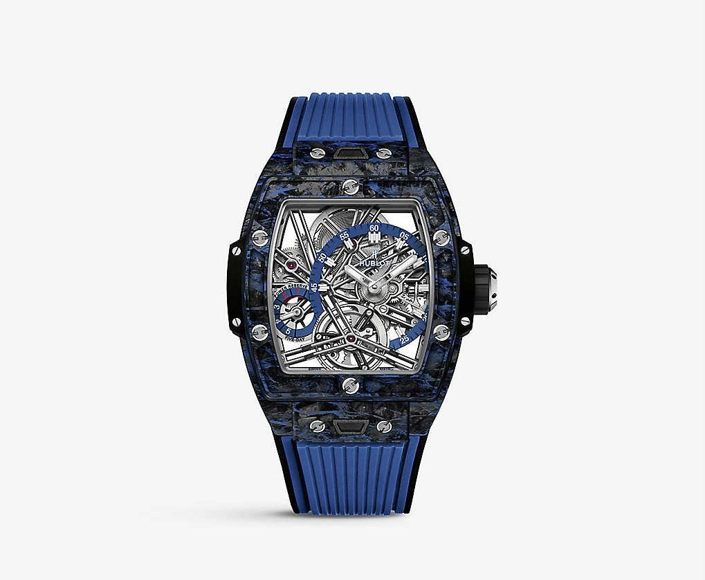 Hublot-Spirit-of-Big-Bang-Carbon-and-Rubber-Strap-Watch