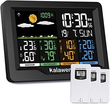 Kalawen Weather Station Outdoor Thermometer