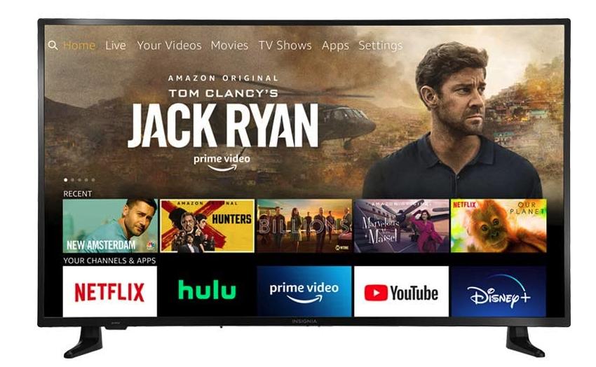 Insignia 50-inch Smart Fire TV, best amazon prime day TV deals