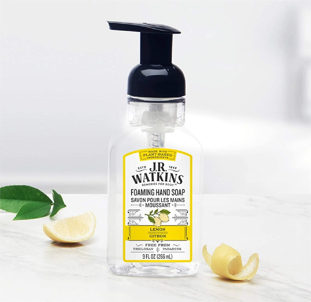 J.R. Watkins Lemon Foaming Hand Soap