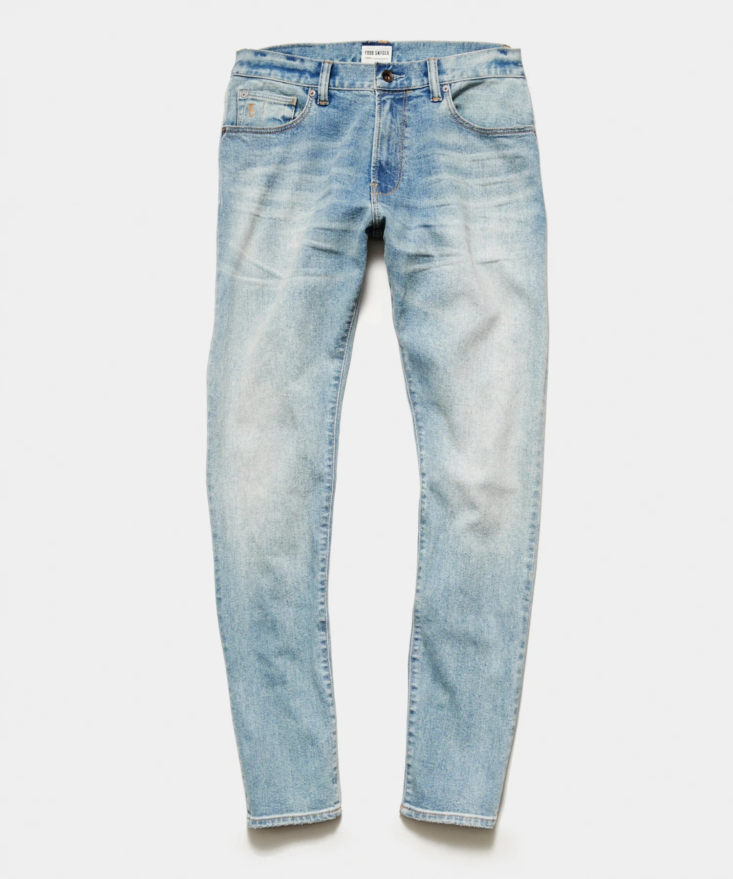 Todd Snyder Slim Fit Stretch Jeans, most comfortable jeans for men