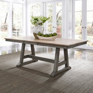 Kruger expandable dining table