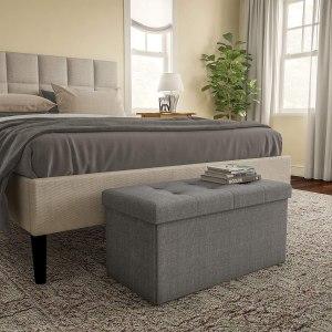 storage furniture lavish home folding storage bench ottoman