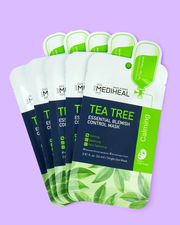 Mediheal Tea Tree Essential Blemish Control Sheet Face Mask