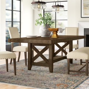Melstone expandable dining table