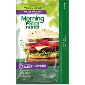 morningstar farms vegan burgers