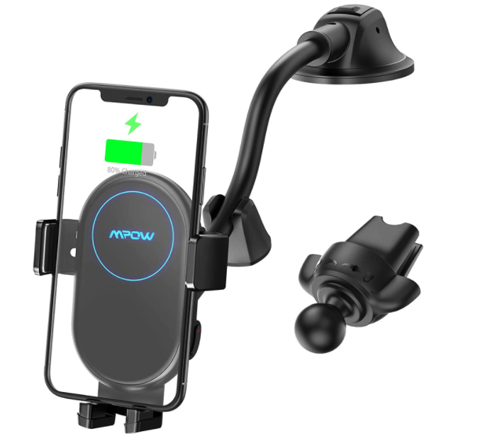 Mpow Car Mount Wireless Charger