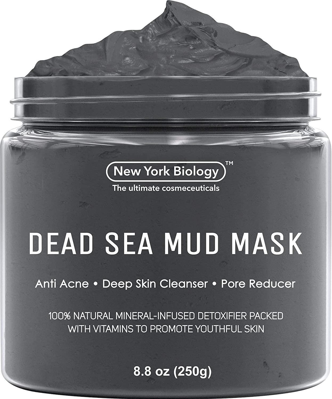 New York Biology Dead Sea Mud Mask, best clay masks