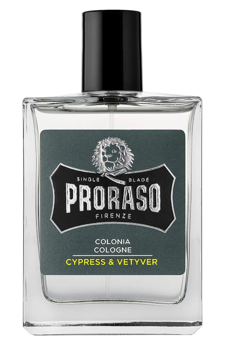 Proraso Men's Grooming Cypress and Vetyver Cologne; best cheap cologne