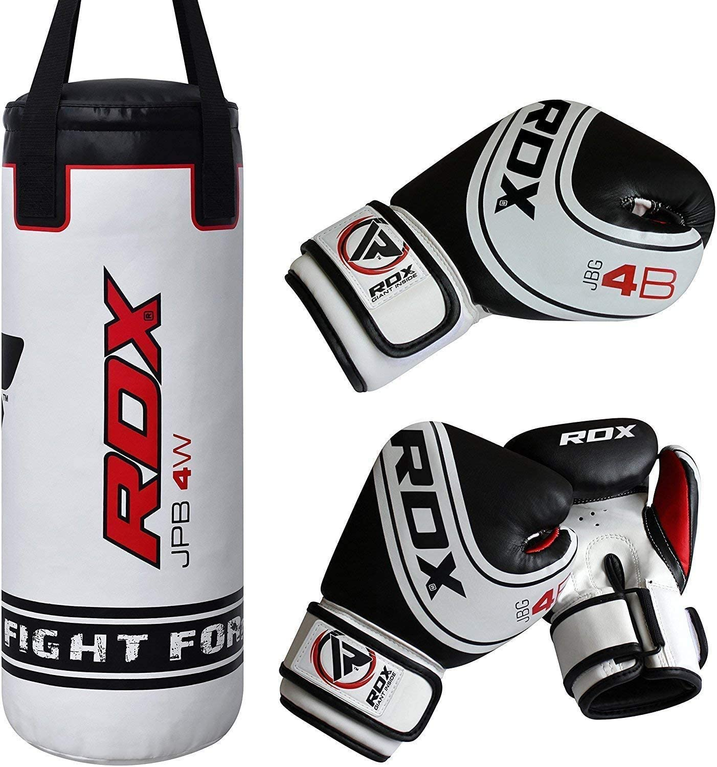 RDX Kids Punching Bag with boxing gloves