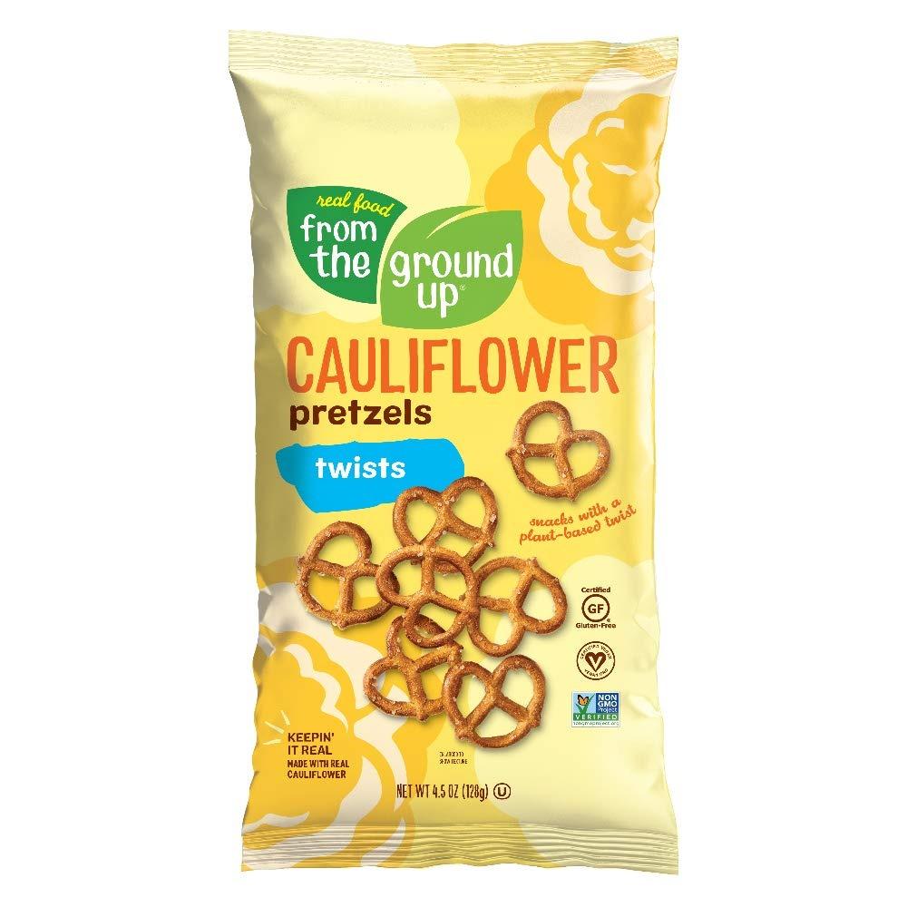 Real Food From The Ground Up Vegan Cauliflower Pretzels