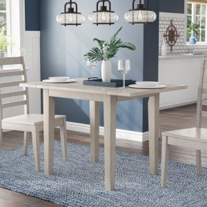 Rutledge drop leaf dining table, expandable dining table