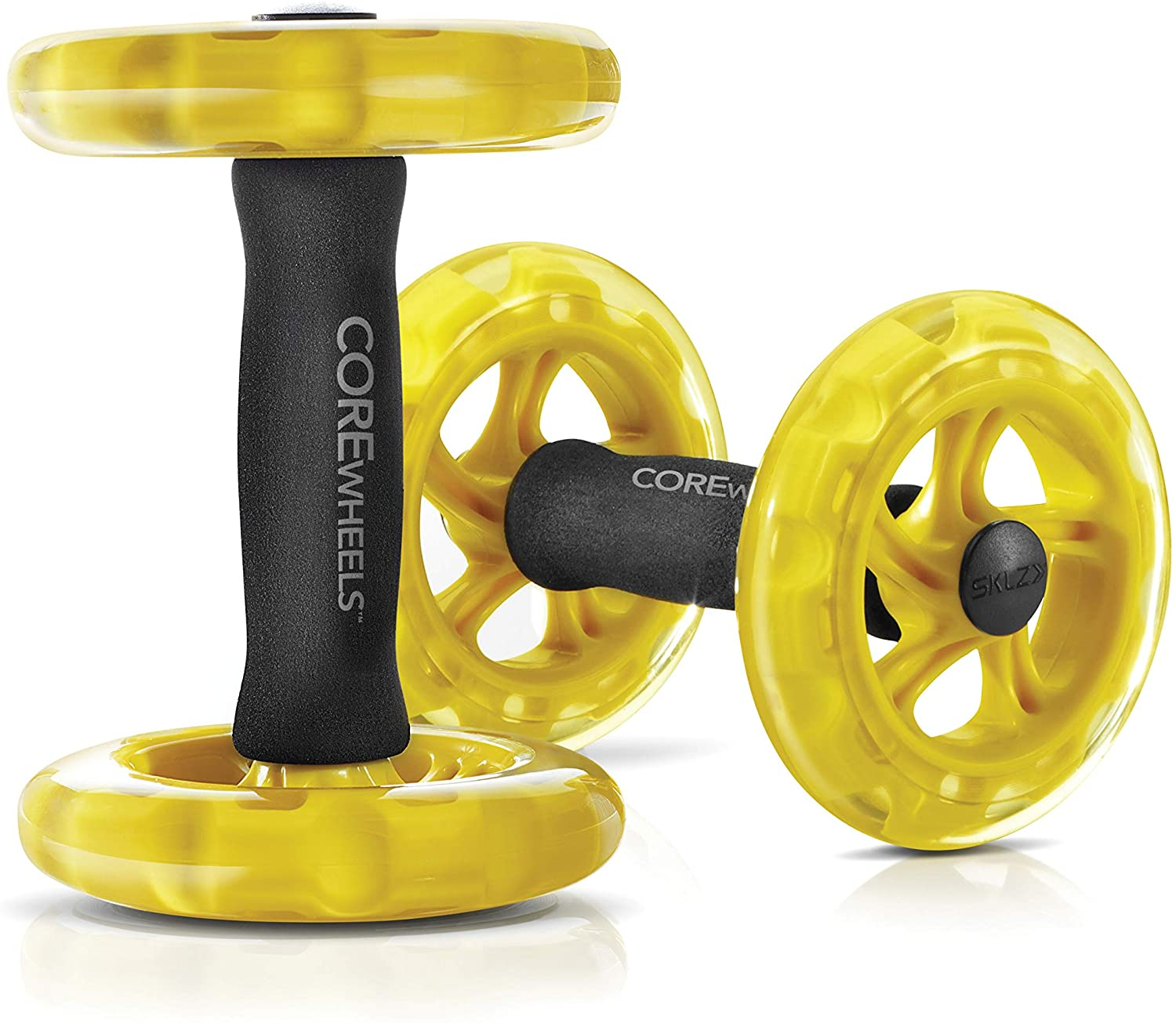 SKLZ Core Wheels Strength and Ab Roller Set of two