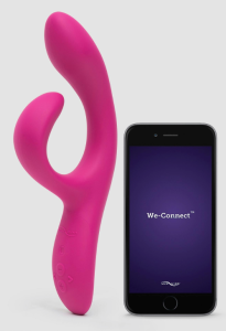 We-vibe app-controlled vibrator, sex apps