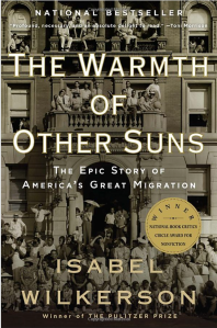 warmth of other suns book cover, black history month books