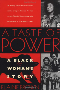 a taste of power book cover, black history books