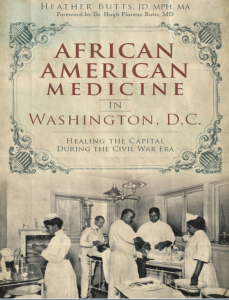 African American Medicine in Washington, D.C. book cover, black history books