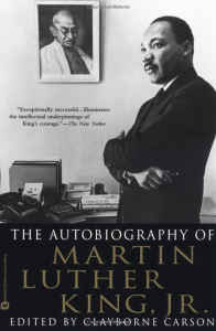 autobiography of martin luther king jr cover, black history month books