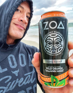 ZOA Energy Drink, Dwayne 'The Rock' Johnson Products