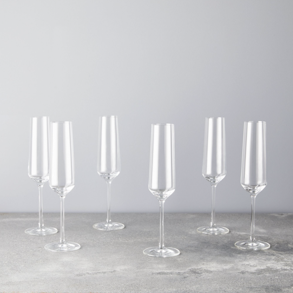 Champagne glasses Food52