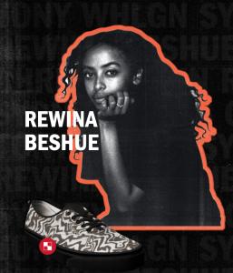 vans black history month artist rewina beshue